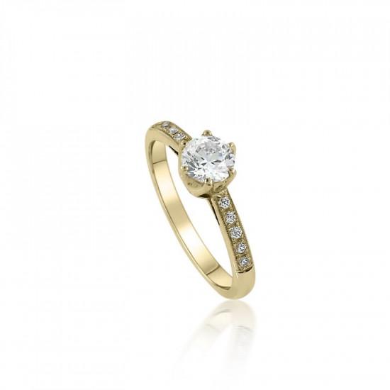 Zásnubný prsteň ZS 13