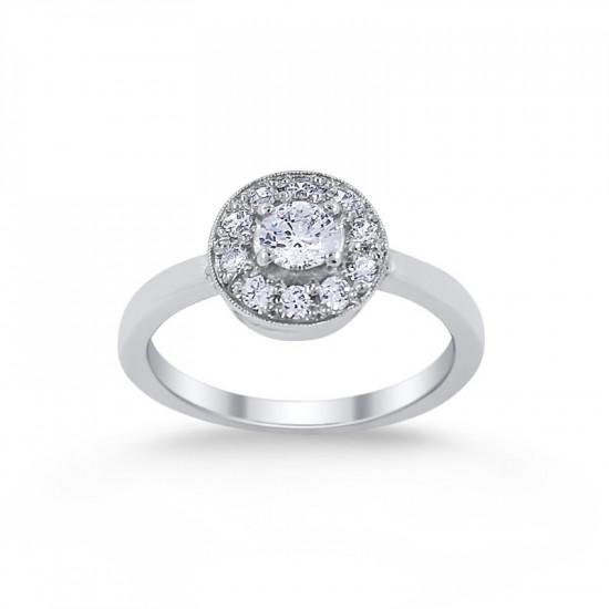 Zásnubný prsteň ZS 12